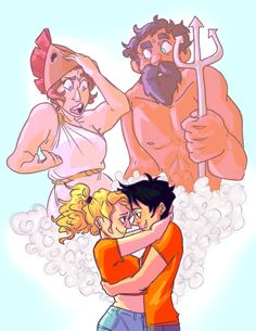 Parental disapproval<<< sorry Athena and Poseidon, but everyone ships them and you can't stop it >:)
