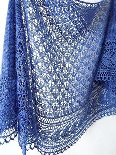 (6) Name: 'Knitting : Holbrook Shawl