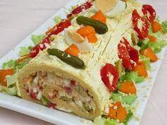 Brazo gitano salado con KitcheAid
