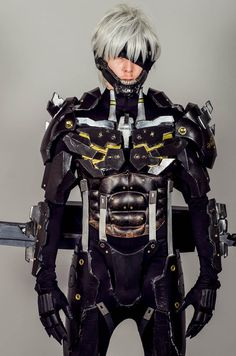 Metal Gear Solid Rising. View more EPIC cosplay at http://pinterest.com/SuburbanFandom/cosplay/...