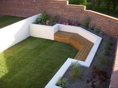 Urban Garden Design Garden makeover in Southampton Back Garden Design, Backyard Garden Design, Patio Design, Back Garden Ideas, Backyard Designs, Backyard Ideas For Small Yards, Small Backyard Landscaping, Backyard Patio, Courtyard Landscaping