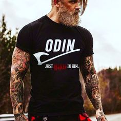 I need the shirt and the man both