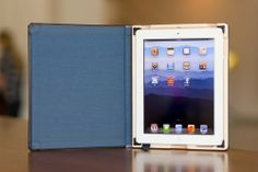 Pad and Quill leather Octavo Case for iPad 4/3/2 Camden Blue Interior Cloth  #Pad&Quill #PersonalComputer