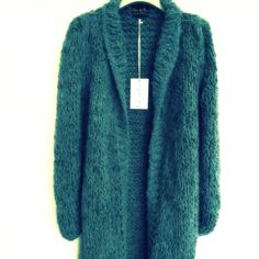 Jade chunky soft long cardigan