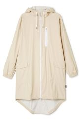 <p>The RAINS Parka is made of the classic light weighted RAINS fabric and has an elegant mat surface. It has a casual regular fit, two way water-resistant zipper on the front and a single front side chest pocket.<br /></p>
