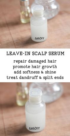 DIY Natural Leave In Scalp Serum for soft and shiny hair Natural Hair Care, Natural Skin, Natural Hair Styles, Natural Beauty, All Natural Hair Products, Leave In, Glossy Hair, Shiny Hair, Homemade Hair Serum