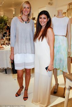 Simple but saucy: Jamie-Lynn Sigler, right, spotted with Kristen Taekman, left, revealed s...