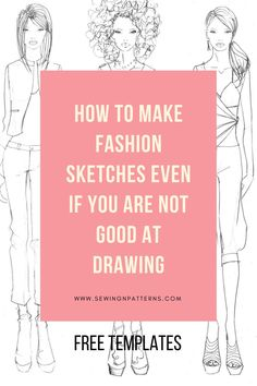 How to draw fashion sketches with free fashion templates (scheduled via http://www.tailwindapp.com?utm_source=pinterest&utm_medium=twpin&utm_content=post129826485&utm_campaign=scheduler_attribution)