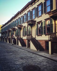 "205 Likes, 4 Comments - James Coviello (@james_coviello) on Instagram: ""Once the carriage drive up to the Morris-Jumel mansion, Sylvan Terrace is a tiny cobblestone street…"""