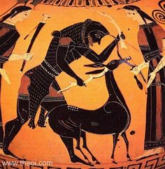 The Third Labor of Hercules - The Ceryneian Hind. Do you love mythology? If you do you'll love this ancient Greek myth about Hercules!
