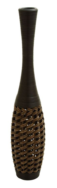 Tall Floor Vase 36 Inches Wood Gold Vase Tall Floor Vases And Gold