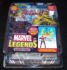 ends tomorrow  Baron Zemo Marvel Comic Legends MOJO Variant Figure Avengers Captain America