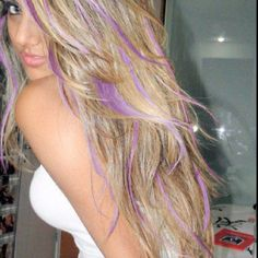 The purple isn't my thing...replace that with a light brown this would be amazing