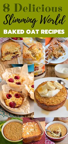 8 Must-Try Baked Oats Slimming World Recipes - The perfect way to start your day is with one of these amazing recipes. astuce recette minceur girl world world recipes world snacks Baked Oats Slimming World, Slimming World Cake, Slimming World Diet Plan, Slimming World Desserts, Slimming World Recipes Syn Free, Slimming Eats, Slimming World Porridge, Slimming World Breakfasts Free, Slimming World Syns List
