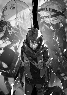 Hai to Gensou no Grimgar Grimgar, Anime Monochrome, Sci Fi Comics, Anime Animals, Neon Genesis Evangelion, Manga Art, Illusions, Otaku, Cool Art