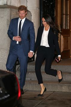 Meghan Markle Just Ditched the Dress for the Coolest Pantsuit