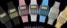 Coloca un mítico reloj Casio en tu iPhone, iPad o Apple Watch