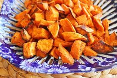 Savory Roasted Sweet Potatoes from Jamie Cooks It Up! Will definitely make again except I made my own seasoning out of sugar, paprika, cajun seasoning, garlic salt & thyme. Veggie Dishes, Veggie Recipes, Fall Recipes, Food Dishes, Side Dishes, Vegetarian Recipes, Dinner Recipes, Cooking Recipes, Healthy Recipes