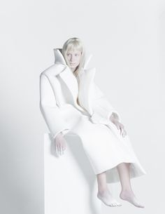 <p>German fashion designer Melitta Baumeister believes in pushing the boundaries of traditional fashion design by challenging the very process of textile construction with a line of silicone molded ga