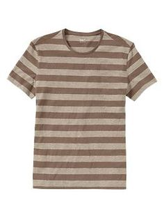 Striped T | Gap-Truman (Vintage Browns and Vintage Creams)