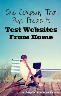 A reputable company that pays people to work at home, testing websites. It's a good way to earn extra money online.