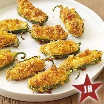 Best Jalapeno Poppers, and they're a WW recipe!  So good!  They have become a family-get-together tradition. Fried Pickles, Jar, Fries, Canning, Eggs, Fried Dill Pickles, Jars, Preserve, Egg As Food