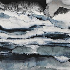 "Saatchi Online Artist Lia Melia; Painting, ""On The Rocks"""