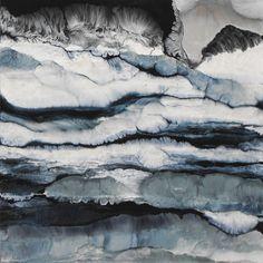 """Saatchi Online Artist Lia Melia; Painting, """"On The Rocks"""" #art"""