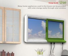 Solar Powered Appliances | Solar Window: Let your window power your home appliances – Green ...