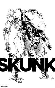 skunk, Brian Sum on ArtStation at https://www.artstation.com/artwork/drRmw?utm_campaign=notify&utm_medium=email&utm_source=notifications_mailer