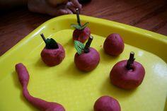 apple play dough!