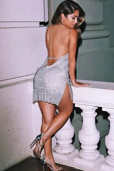 Sexy Dress With Cut Accent ★ Want to shine brightly at the parties with sexy club outfits? Browse our inspo gallery to find the trendiest clubwear ideas: from short tight dresses and skirts to fancy jeans! Club Dresses, Sexy Dresses, Fashion Dresses, Night Out Dresses, Vegas Dresses, Tight Dresses, Sexy Outfits, Dress Outfits, Birthday Dresses