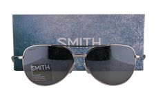 Smith Rockford Slim Sunglasses Silver w/Polarized Platinum Lens ODN. Smith Eyewear Collection. Model: Rockford Slim/S. Color Code: ODN Silver. Designer eyewear comes with an original box, pouch and manufacturers papers & warranty. We handle prescription orders! Email us for details! Visit our storefront: www.amazon.com/shops/A1WUXX7TFM8VUI.