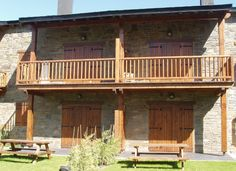 Portones de madera Iscletec_casa