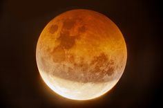 For many people, the sight of the moon turning deep red - some would say blood red - during a lunar eclipse is a wonderful sight. And that's precisely...