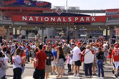 Nationals Park Centerfield Gate.