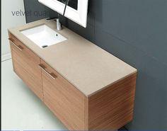 έπιπλο μπάνιου με πάγκο τεχνογρανίτη 120 εκ