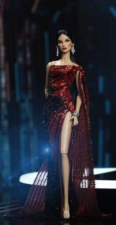Fashion Dolls, Fashion Dresses, Best Christmas Presents, Beautiful Barbie Dolls, Dolls Dolls, Doll Face, Fashion Advice, Pageant, Doll Clothes