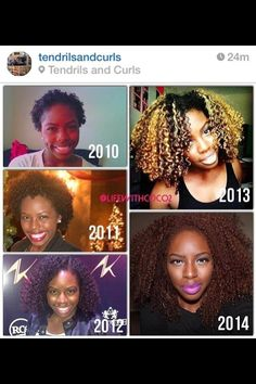 Natural hair journey... my hair is on 2011 length