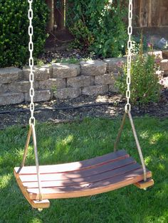 Swing made from wine barrel! #swing #wine Because you`ll always have to entertain kids at cellar too.