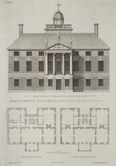 Norfolk Burnham Thorpe Church 1885 Antique Architectural Print
