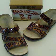 FREE SHIPPING!!  Fab Mephisto Shoes Size 38. Fabulous pair of Mephisto slip on shoes.  These are made of the finest quality.  These were purchased new an rarely worn.  Grab these at this great price.  The most comfortable shoes you will own.  We have three other pairs also listed. Thanks! Mephisto Shoes Sandals