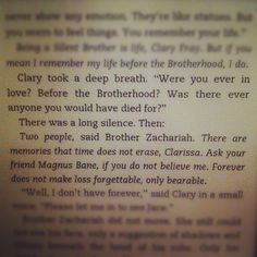 After finishing The Infernal Devices, this passage is SO much more meaningful! Malec, Shadowhunter Academy, Clockwork Angel, Cassie Clare, Cassandra Clare Books, Shadowhunters The Mortal Instruments, B 13, The Dark Artifices, City Of Bones