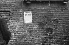 25 aprile 1945: l'Italia è in festa, a Bologna in piazza Maggiore sfilano, circondati dai bolognesi festanti, i partigiani per la cerimonia della riconsegna delle armi.http://bit.ly/I2Nl3G Nella foto del pittore di guerra Ed Reep le primissme immagini del muro di Palazzo d'Accursio su cui venivano fucilati i partigiani.