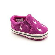 Ralph Lauren Layette Bal Harbour Repeat Infant Baby Girls Size 1 Purple Suede Ralph Lauren Layette. $17.99