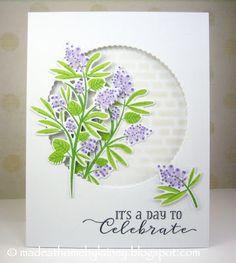 Made @ Home: Patterns Behind Die-Cut Windows (MIM #281) PTI Beautiful Berries: Spring