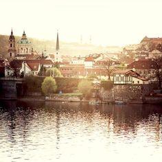 Prague Spring - Vltava river bank  | by ©.natasha. - Infiniti of Clarendon Hills' Pinterest http://www.infinitiofclarendonhills.com/