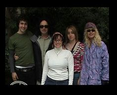 Mike Campbell and his family