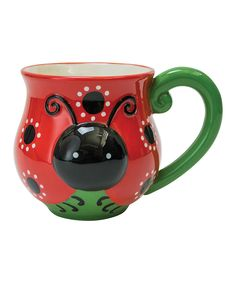Another great find on #zulily! Ladybug Mug by Boston Warehouse #zulilyfinds
