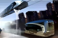 biway all electric buses, future train